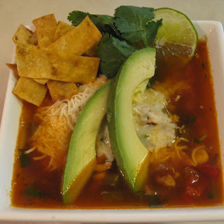 Turkey Tortilla Soup.
