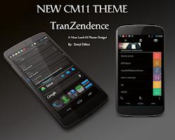 Screenshot of TRANZENDENCE CM11 THEME