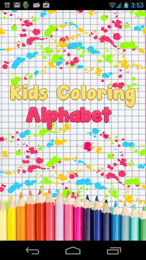 ABC Kids Coloring: Alphabet