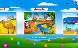 Screenshot of Kids Animal Word Puzzles