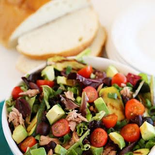 Quick & Healthy Mediterranean Tuna Fish Salad