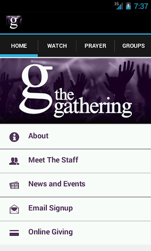 The Gathering Church App