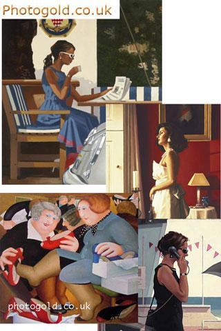 Jack Vettriano Art Gallery- screenshot