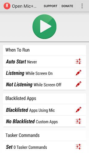 Open Mic+ Donate screenshot