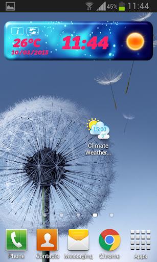 气候 时钟天气预报微件|玩天氣App免費|玩APPs