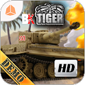 BATTLE KILLER TIGER DEMO HD 3D icon