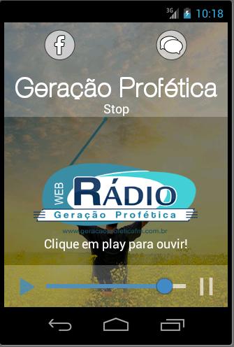 Rádio Geração Profética FM
