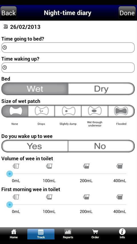 My Dryness Tracker- screenshot