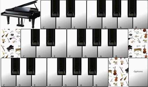 ピアノの鍵盤楽器