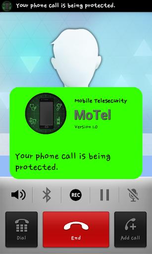 【免費商業App】MoTel Pro (Anti-wiretapping)-APP點子