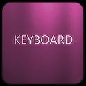 Pink Glass Keyboard Skin icon