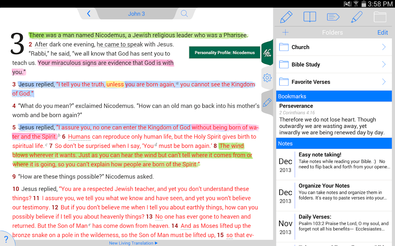 Life Application Study Bible - screenshot
