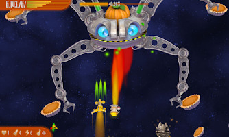 Screenshot of Chicken Invaders 4 Thanksgivin