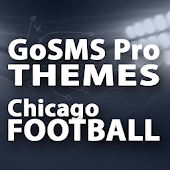 GoSMS Chicago Football Theme