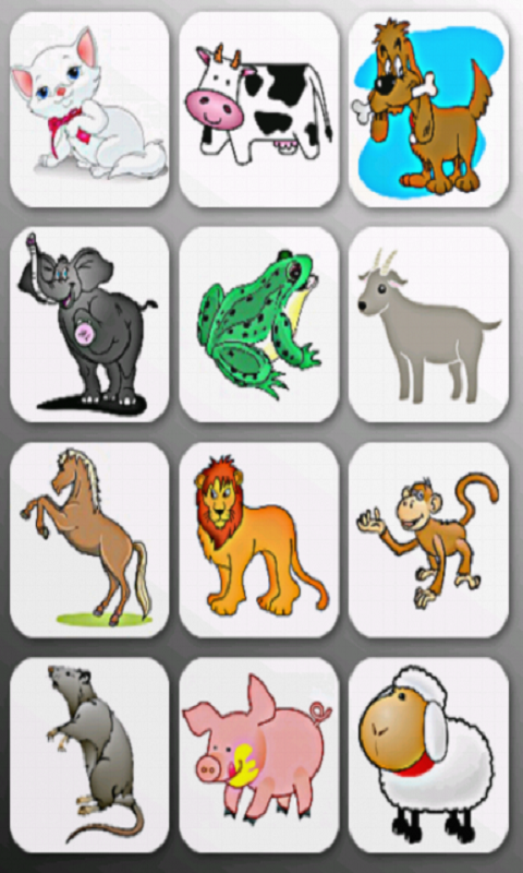 Learn Animal Names and Sounds- screenshot