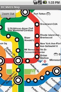 DC Metro Map - screenshot thumbnail