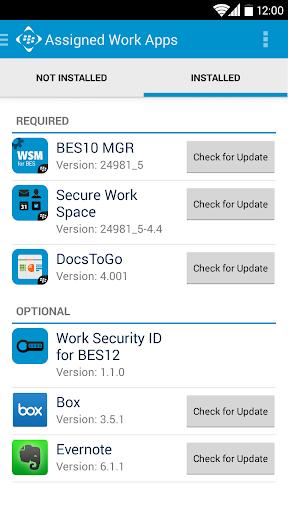 【免費生產應用App】BES12 Client-APP點子