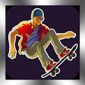 Skateboarding 3D Skateboard icon