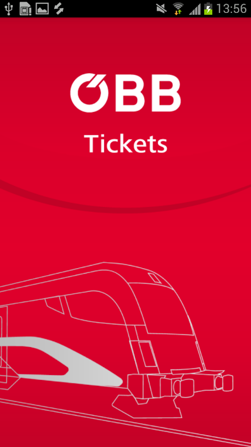 ÖBB Tickets - screenshot