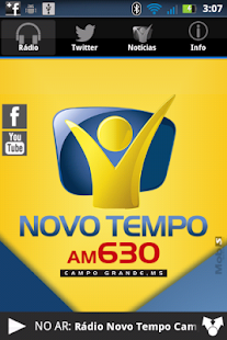 Rádio Novo Tempo 630 AM - screenshot thumbnail