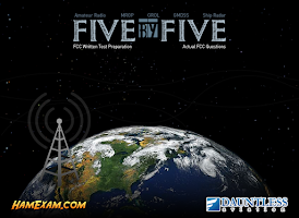 Screenshot of Five by Five Commercial FCC