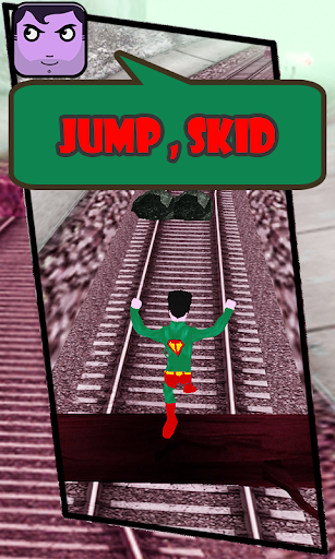 Subway Superman Rush 3D