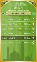 Screenshot of Muslims Prayer Time