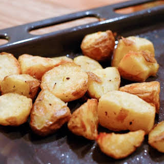 Perfect Roasted Potatoes.