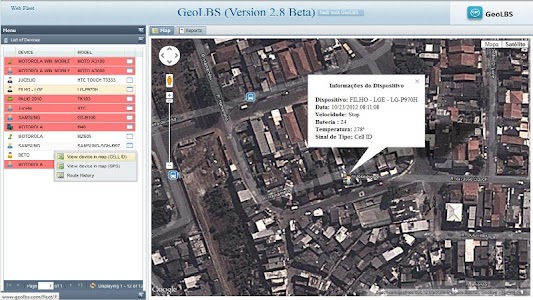 GPS Tracker Web & SMS screenshot 3