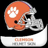 Clemson Helmet Skin