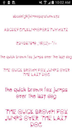 Color Fonts for FlipFont 8