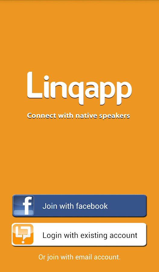 Linqapp - Language Assistance - screenshot