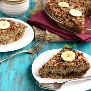 Date & Banana Quinoa Breakfast Bake {GF, Paleo & Low Fat}