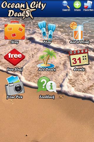 Ocean City Deals- screenshot