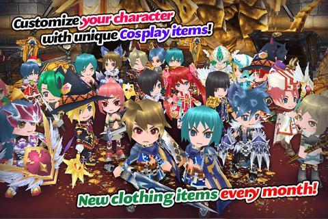 RPG Elemental Knights R (MMO) 4.1.0 screenshots 7