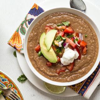 Mexican Pinto Bean Soup.
