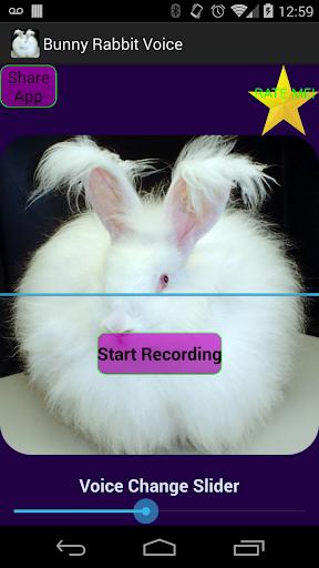 Talking Rabbit Voice Changer