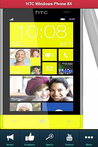 HTC Windows Phone 8X REVIEW - screenshot