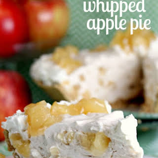 Incredible Whipped Apple Pie! (The perfect no bake dessert!).