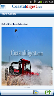 Coastaldigest.com- screenshot thumbnail