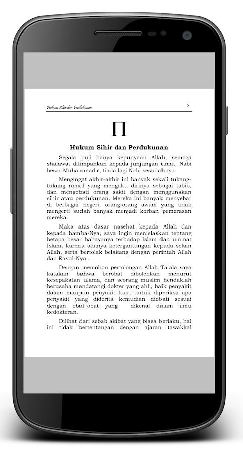 Hukum Sihir & Perdukunan- screenshot