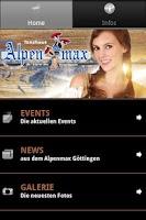 Screenshot of Alpenmax Göttingen