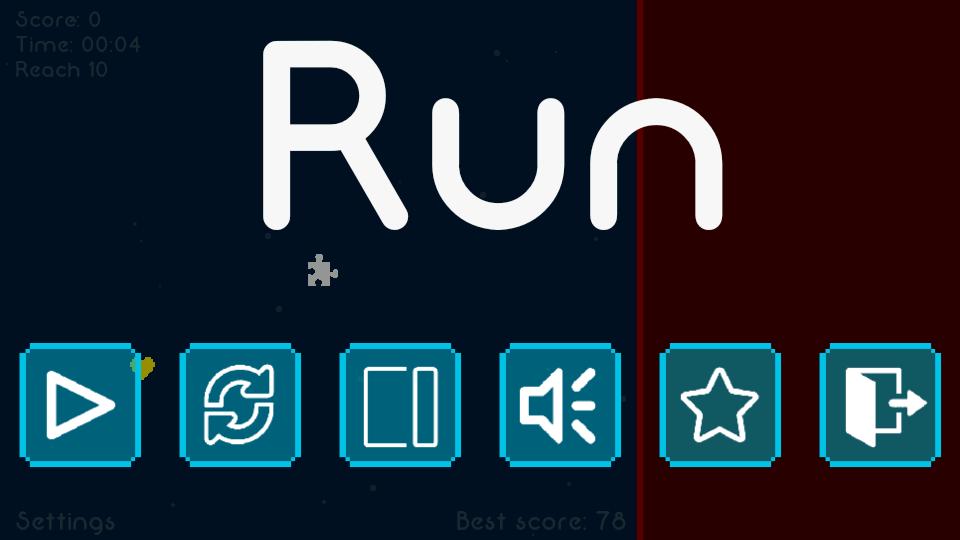 Run - screenshot