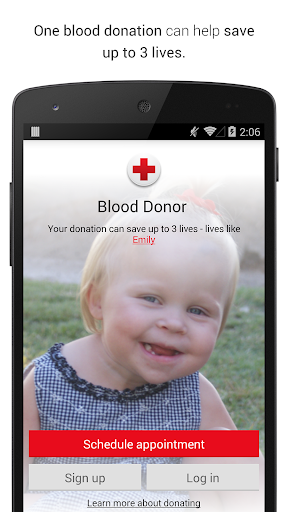 Blood Donor Screenshot