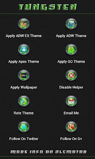 Tungsten Multi Theme (Green) - screenshot thumbnail