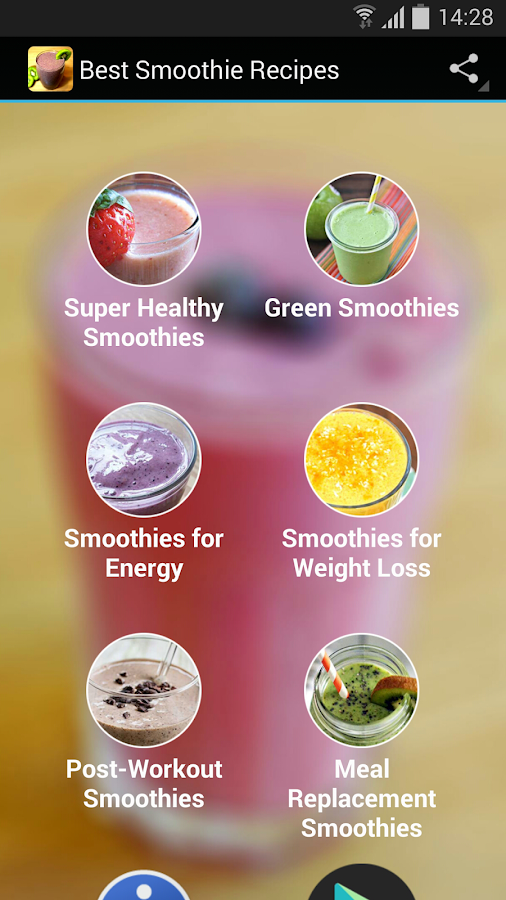 Best Smoothie Recipes- screenshot