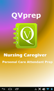 QVPrep Nursing Caregiver PCA- screenshot thumbnail