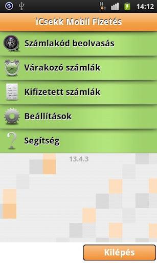 iCsekk mobil fizetés