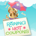 Raining Hot Coupons icon