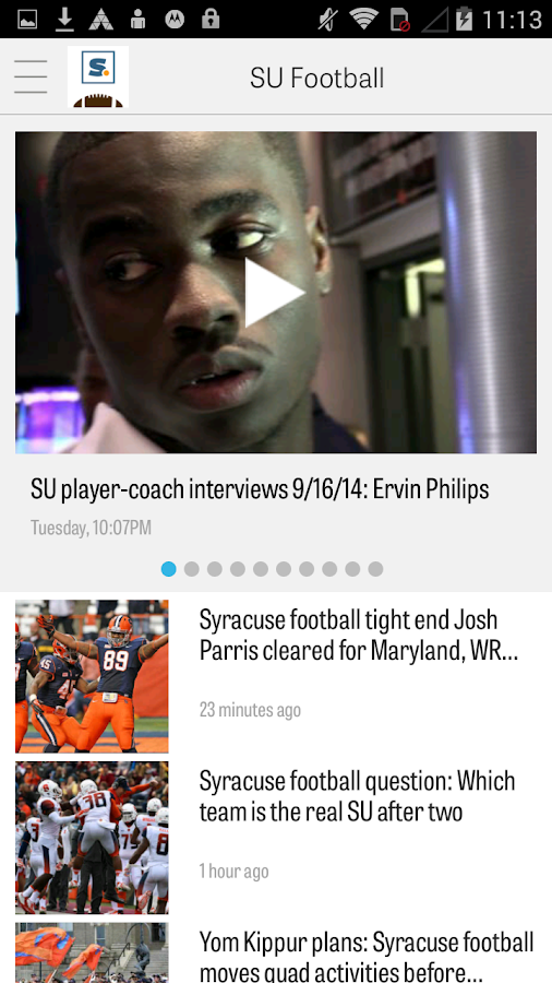 syracuse.com: SU Football News - screenshot